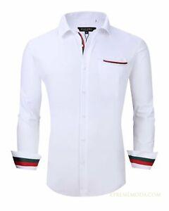 Regular fit Pavini italy design White