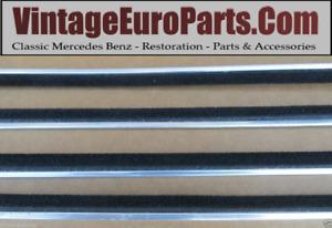4 Piece Fuzzy  Window Felt Fits Mercedes W111 W113 1157250265