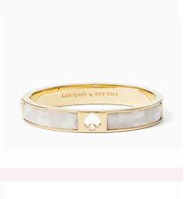 Kate Spade Bracelet hole punch spade hinge bangle cream Beautiful and AUTHENTIC!