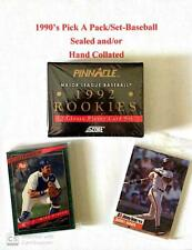Pick A Pack/Set>Baseball-1990's  See the Description for more info.