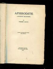Louys, Aphrodite, 1919