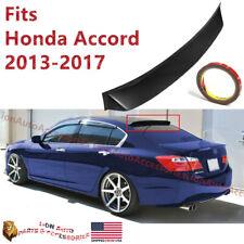 Fits Honda Accord 2013-2017 9TH Gen Rear Window Roof Vent Visor Spoiler Wing