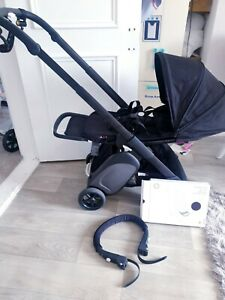 *(New Frame) Bugaboo Ant Pushchair With Black Fabrics, Extras, Cabin Hold! £550!