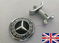 New Mercedes Benz Bonnet Badge Hood Emblem Sticker C S E Class 44mm w204 W211