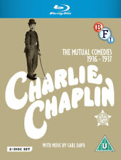 Charlie Chaplin The Mutual Comedies 5035673012109 Blu-ray Region B