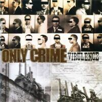 ONLY CRIME virulence (CD, album, 2007) punk, hard rock, very good condition,