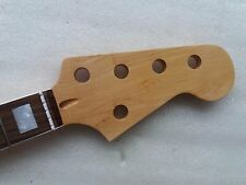 5 string Maple 20 Fret Bass Neck For Electric Bass Guitar Parts Replacment