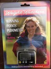 NIP New Weight Watchers Winning Points Pedometer & Walking Guide