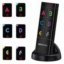 Oowolf Key Finder, Wireless Rf Key Tracker Anti-Lost Alarm Item Locator Finder L
