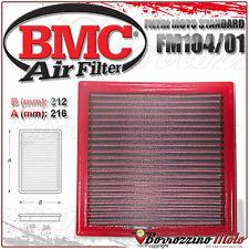 FILTRO DE AIRE BMC DEPORTIVO MOTO LAVABLE FM104/01 DUCATI MONSTER 900 1997 97