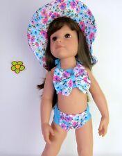 Puppenkleidung Götz Hannah & Jessica 46- 50cm -Badeset-