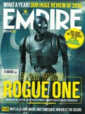 Empire Magazine January 2017 Captain Cassaian Andor Cover Star Wars Rogue One