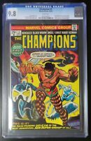 The Champions #1 Marvel Comics 1975 CGC 9.8 White Pages Origin & 1st Key Issue