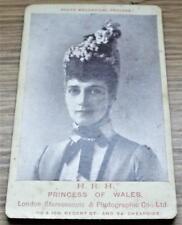 Alexandra of Denmark - Princess of Wales - CDV Carte de Visite Photograph c1880