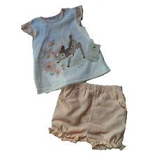 Disney Girls' No Pattern 100% Cotton Clothing (0-24 Months)