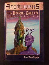 Animorphs The Hork-Bajir Chronicles by K. A. Applegate (1998, Hardcover, Deluxe)