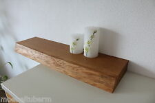 Wandboard Eiche Wild Massiv Holz Board Regal Steckboard Regalbrett Baumkante
