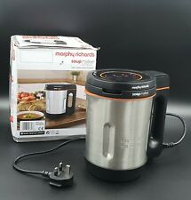 More details for morphy richards compact soup maker 501021 stainless steel 1 litre, 900 w