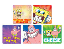"25 SpongeBob Dental Patient Stickers, 2.5""x2.5"" each"