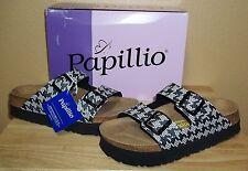Papillio by Birkenstock Arizona Platform Sandals New NIB 40 9 9.5 Knotted Black