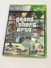 GTA Grand Theft Auto San Andreas Xbox One Xbox 360 brand-new & factory sealed