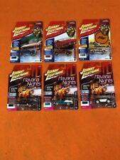 MUSCLE CARS USA 2018 RELEASE 2A SET OF 6 CARS 1/64 BY JOHNNY LIGHTNING JLMC013-A
