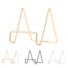 Plate Wire Stand Metal Organizer Easel Display Picture Frame Platter Craft