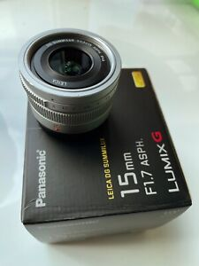 Panasonic Lumix G Leica DG Summilux 15mm F1.7 Lens