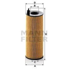 Mann HU721/5x Oil Filter Element Metal Free 172mm Height 64mm Outer Diameter