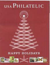 USA PHILATELIC 2010 HAPPY HOLIDAYS CATALOG - HAPPY HOLIDAYS - USED