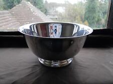 Silver Plated Copy Paul Revere Bowl Oneida American 1950, Nice Shape And Style.