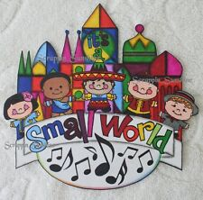 Disney It's a Small World - Printed Scrapbook Page Printed Paper Piece Ssffdeb