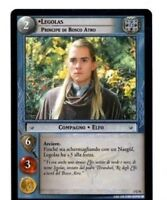 LOTR LORD OF THE RINGS FoTR FELLOWSHIP OF THE RING 1U51 LEGOLAS SPANISH CARD CCG