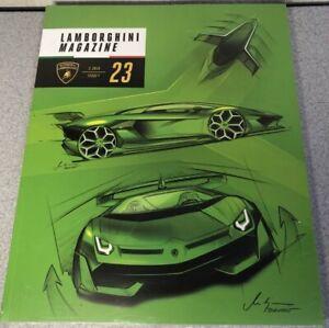 BRAND NEW 2018 Lamborghini Magazine 2/2018 #23 SEALED