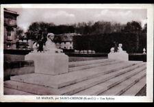LE VAL SAINT-GERMAIN prés de SAINT-CHERON (91) SPHINX du CHATEAU du MARAIS