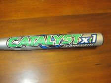 Louisville Slugger TPS Catalyst X1 Composite Softball Bat Model FP94C 33in 23oz