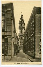 CPA - Carte Postale - Belgique - Mons - Rue Courte
