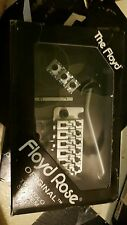 German Floyd Rose Original Left-Handed Tremolo SATIN CHROME  L2 Nut NEW IN BOX