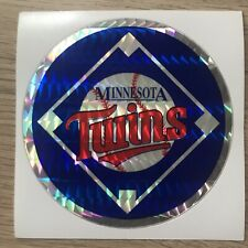 Minnesota twins Vintage 80s MLB Sticker