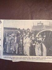 h1q Ephemera 1935 Picture Swindon F R E Davis Watkyn Wynn Flora Le Breton