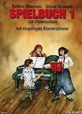 Oboe Noten : Spielbuch 1 zur Oboenschule (Doemens Maiwald) Anfänger