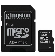 KINGSTON MICRO SD MICRO SDHC C4 8GB 8G 8 G CLASS 4 FLASH MEMORY CARD NEW