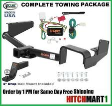 "TRAILER HITCH COMPLETE PACKAGE FOR 2008-2013 TOYOTA HIGHLANDER CLASS 3,   2"" TOW"