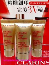 CLARINS LIFT AFFINE VISAGE SHAPING Facial V Contouring SERUM ◆5MLX3◆ POST FREE!