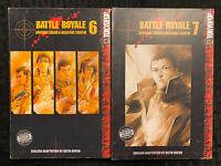 Battle Royale 6, 7 Manga English Action Tokyopop OOP