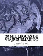 20 Mil Leguas de Viaje Submarino by Julio Verne (2015, Paperback)