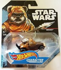 NEW HOT WHEELS CHARACTER CARS STAR WARS WICKET FREE SHIPPING