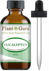 Eucalyptus Essential Oil 2 oz. 100% Pure Natural Therapeutic Grade Globules Bulk