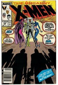 MARVEL UNCANNY X-MEN #244 (1989 Newsstand) 1ST APP OF JUBILEE 🔥key Issue🔥