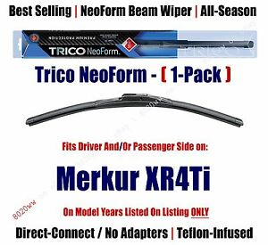Super Premium NeoForm Wiper Blade (Qty 1) fits 1985-1989 Merkur XR4Ti - 16200